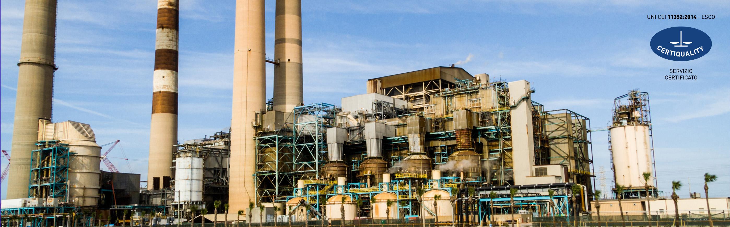 EFFICIENTAMENTO energetico per aziende dalla Zeus energy group spa ESCO